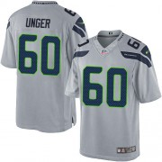 NFL Max Unger Seattle Seahawks Limited Alternate Nike Jersey - Grey