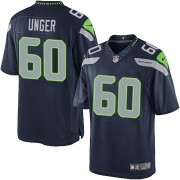 NFL Max Unger Seattle Seahawks Limited Team Color Home Nike Jersey - Navy Blue