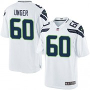 NFL Max Unger Seattle Seahawks Limited Road Nike Jersey - White