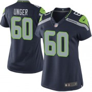 NFL Max Unger Seattle Seahawks Women's Elite Team Color Home Nike Jersey - Navy Blue