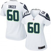 NFL Max Unger Seattle Seahawks Women's Elite Road Nike Jersey - White