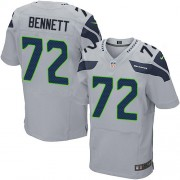 NFL Michael Bennett Seattle Seahawks Elite Alternate Nike Jersey - Grey