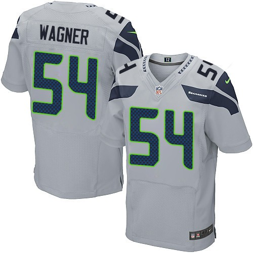fae39f746c9 NFL Bobby Wagner Seattle Seahawks Elite Alternate Nike Jersey - Grey