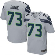 NFL Michael Bowie Seattle Seahawks Elite Alternate Nike Jersey - Grey