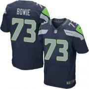 NFL Michael Bowie Seattle Seahawks Elite Team Color Home Nike Jersey - Navy Blue