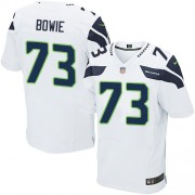NFL Michael Bowie Seattle Seahawks Elite Road Nike Jersey - White