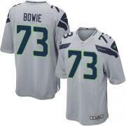 NFL Michael Bowie Seattle Seahawks Game Alternate Nike Jersey - Grey