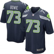 NFL Michael Bowie Seattle Seahawks Game Team Color Home Nike Jersey - Navy Blue