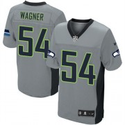 NFL Bobby Wagner Seattle Seahawks Elite Nike Jersey - Grey Shadow