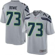 NFL Michael Bowie Seattle Seahawks Limited Alternate Nike Jersey - Grey