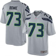 NFL Michael Bowie Seattle Seahawks Youth Elite Alternate Nike Jersey - Grey