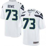 NFL Michael Bowie Seattle Seahawks Youth Elite Road Nike Jersey - White