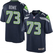 NFL Michael Bowie Seattle Seahawks Youth Limited Team Color Home Nike Jersey - Navy Blue