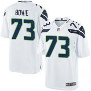 NFL Michael Bowie Seattle Seahawks Youth Limited Road Nike Jersey - White