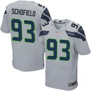 NFL O'Brien Schofield Seattle Seahawks Elite Alternate Nike Jersey - Grey