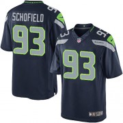 NFL O'Brien Schofield Seattle Seahawks Limited Team Color Home Nike Jersey - Navy Blue