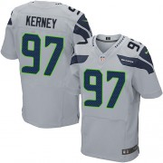 NFL Patrick Kerney Seattle Seahawks Elite Alternate Nike Jersey - Grey