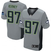 NFL Patrick Kerney Seattle Seahawks Elite Nike Jersey - Grey Shadow
