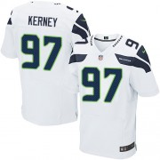 NFL Patrick Kerney Seattle Seahawks Elite Road Nike Jersey - White