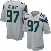 NFL Patrick Kerney Seattle Seahawks Game Alternate Nike Jersey - Grey