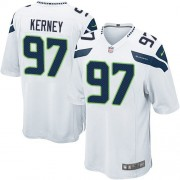 NFL Patrick Kerney Seattle Seahawks Game Road Nike Jersey - White