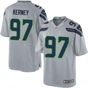 NFL Patrick Kerney Seattle Seahawks Limited Alternate Nike Jersey - Grey