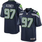 NFL Patrick Kerney Seattle Seahawks Limited Team Color Home Nike Jersey - Navy Blue