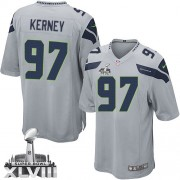 NFL Patrick Kerney Seattle Seahawks Youth Elite Alternate Super Bowl XLVIII Nike Jersey - Grey