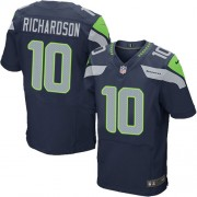 NFL Paul Richardson Seattle Seahawks Elite Team Color Home Nike Jersey - Navy Blue