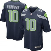 NFL Paul Richardson Seattle Seahawks Game Team Color Home Nike Jersey - Navy Blue