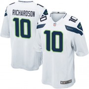 NFL Paul Richardson Seattle Seahawks Game Road Nike Jersey - White