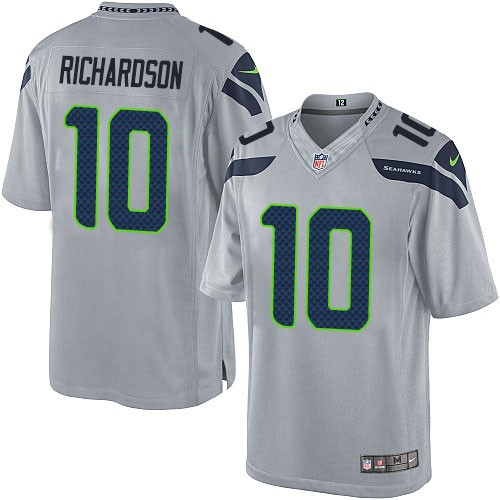 NFL Paul Richardson Seattle Seahawks Limited Alternate Nike Jersey - Grey 04e1e8b15
