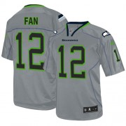 NFL 12th Fan Seattle Seahawks Elite Nike Jersey - Lights Out Grey