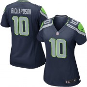 NFL Paul Richardson Seattle Seahawks Women's Game Team Color Home Nike Jersey - Navy Blue