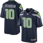 NFL Paul Richardson Seattle Seahawks Youth Elite Team Color Home Nike Jersey - Navy Blue