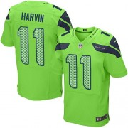 NFL Percy Harvin Seattle Seahawks Elite Alternate Nike Jersey - Green