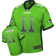 NFL Percy Harvin Seattle Seahawks Game Drift Fashion Nike Jersey - Green