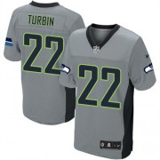 NFL Robert Turbin Seattle Seahawks Elite Nike Jersey - Grey Shadow