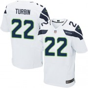 NFL Robert Turbin Seattle Seahawks Elite Road Nike Jersey - White