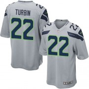 NFL Robert Turbin Seattle Seahawks Game Alternate Nike Jersey - Grey