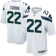 NFL Robert Turbin Seattle Seahawks Game Road Nike Jersey - White