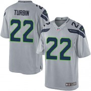 NFL Robert Turbin Seattle Seahawks Limited Alternate Nike Jersey - Grey