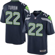 NFL Robert Turbin Seattle Seahawks Limited Team Color Home Nike Jersey - Navy Blue