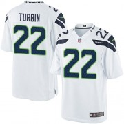 NFL Robert Turbin Seattle Seahawks Limited Road Nike Jersey - White