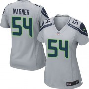 NFL Bobby Wagner Seattle Seahawks Women's Game Alternate Nike Jersey - Grey