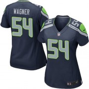 NFL Bobby Wagner Seattle Seahawks Women's Game Team Color Home Nike Jersey - Navy Blue