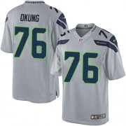 NFL Russell Okung Seattle Seahawks Limited Alternate Nike Jersey - Grey
