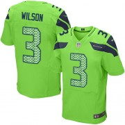 NFL Russell Wilson Seattle Seahawks Elite Alternate Nike Jersey - Green