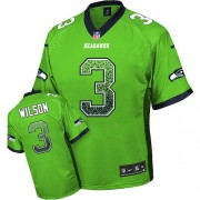 NFL Russell Wilson Seattle Seahawks Elite Drift Fashion Nike Jersey - Green