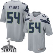 NFL Bobby Wagner Seattle Seahawks Youth Elite Alternate Super Bowl XLVIII Nike Jersey - Grey